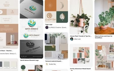 How to create a mood board for your brand on Pinterest.