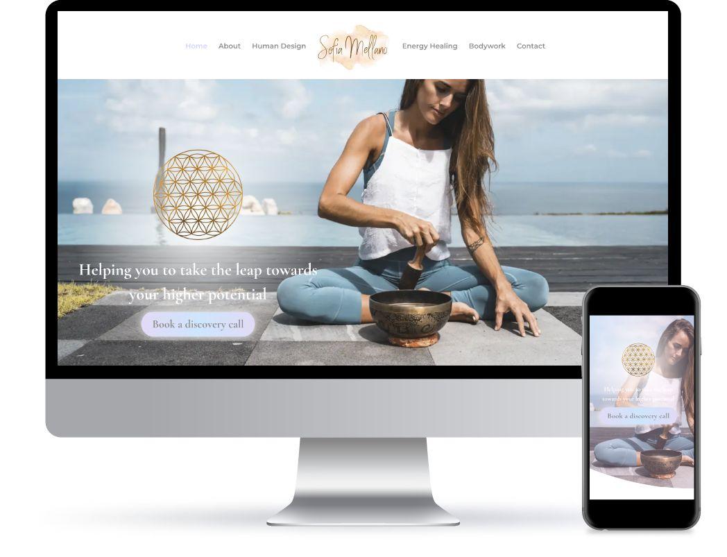 Sophie Taylor Website Design